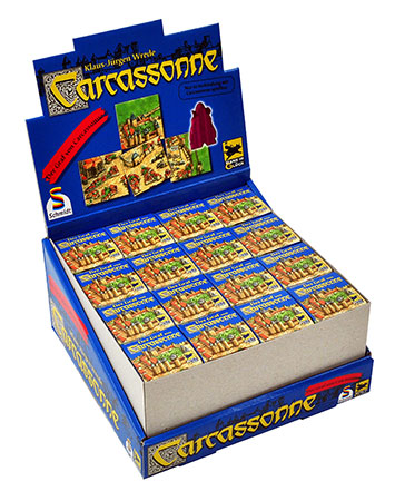 Der Graf von Carcassonne - Großpack (32 Stück)