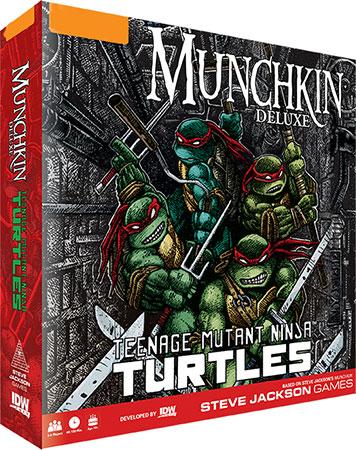 Munchkin Teenage Mutant Ninja Turtles - Deluxe Edition (engl.)