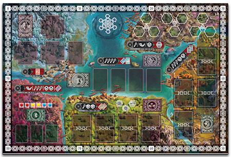 Reavers of Midgard - Neopren-Spielplan (engl.)