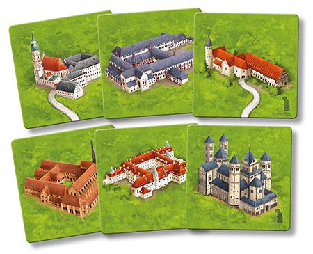 Carcassonne - Die Klöster in Deutschland II (neue Edition)