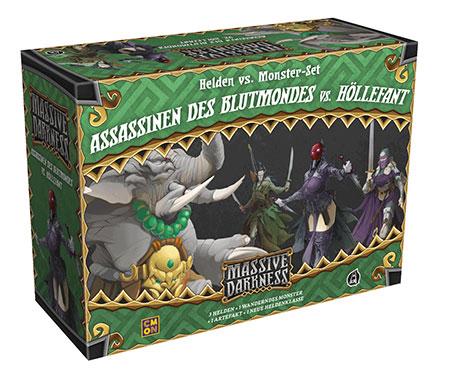 Massive Darkness - Assassinen des Blutmondes vs. Höllefant Erweiterung