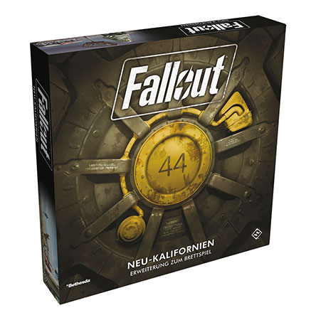Fallout - Das Brettspiel - New California Erweiterung