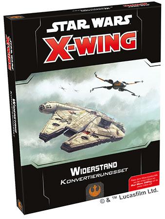 Star Wars: X-Wing 2.Edition - Widerstand Konvertierungsset