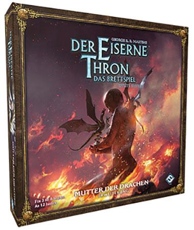 Der Eiserne Thron 2. Edition - Brettspiel - Mutter der Drachen Erweiterung
