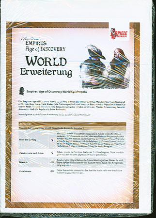 Empires: Age of Discovery - World Erweiterung - deutsches Übersetzungskit