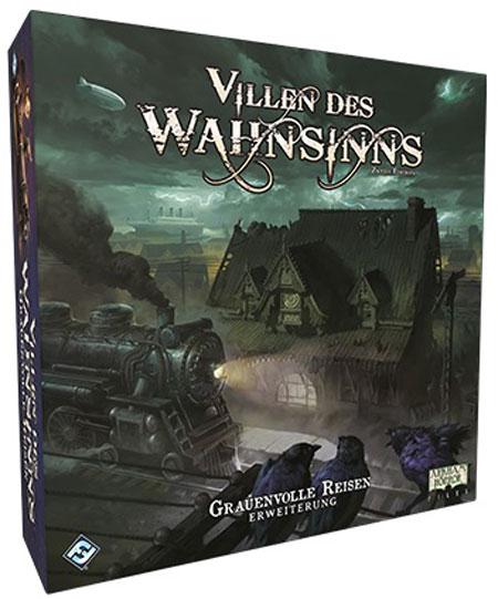 Villen des Wahnsinns 2. Edition - Grauenvolle Reisen Erweiterung