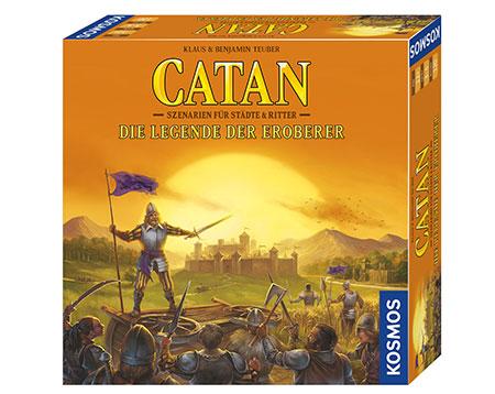 CATAN - Die Legende der Eroberer Erweiterung (Szenarien für Städte & Ritter)