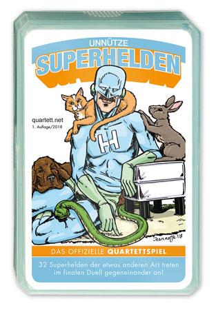 Das unnütze Superhelden Quartett