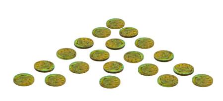 e-raptor Spielgeldmünzen-Set - 1er