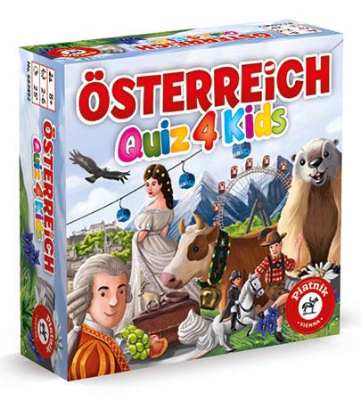 Österreich Quiz für Kinder