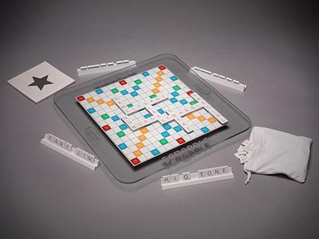 Scrabble Glas-Edition