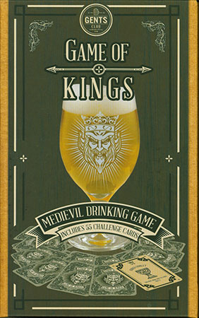 Game of Kings - Mittelalterliches Trinkspiel (inkl. echtem Bierglas)