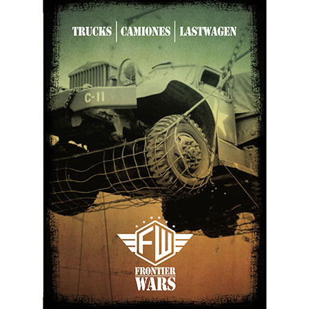 Frontier Wars - Truck Miniaturen inkl. dt. Regel