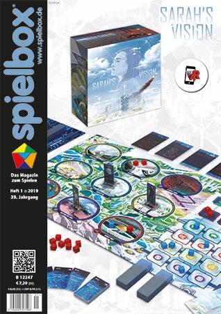 Spielbox 01/2019 inkl. Mini-Erweiterung zu Die Legenden von Andor