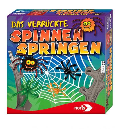 Das verrückte Spinnen Springen