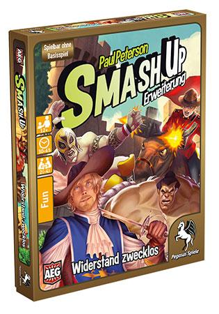 Smash Up - Widerstand zwecklos Erweiterung