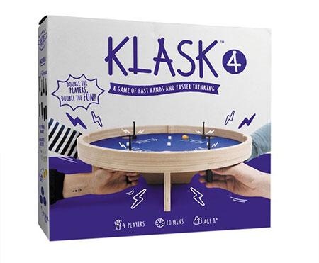 Klask 4 (für vier Spieler)