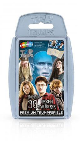 TOP TRUMPS Harry Potter - Die größten Hexen und Zauberer