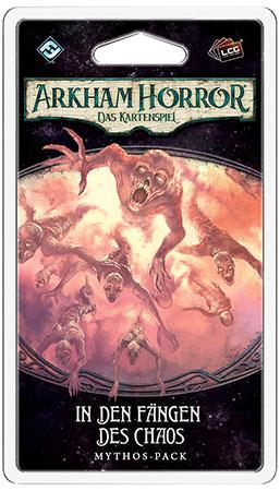 Arkham Horror - Das Kartenspiel - In den Fängen des Chaos Mythos-Pack (Der gebrochene Kreis 5)