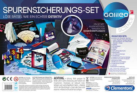 Galileo - Spurensicherungs-Set (ExpK)