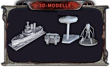 Krieg der Welten - Miniaturen-Set