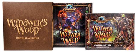Iron Kingdoms Abenteuerbrettspiel – Der Witwerwald Deluxe Edition (dt.)