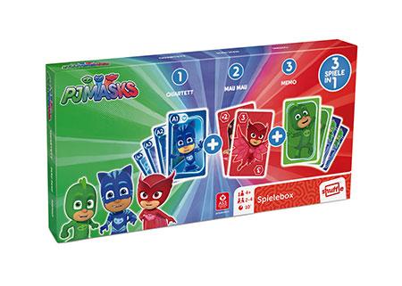 PJ Masks - Spielebox 3 in 1