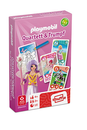Playmobil - Quartett & Trumpf - Girls