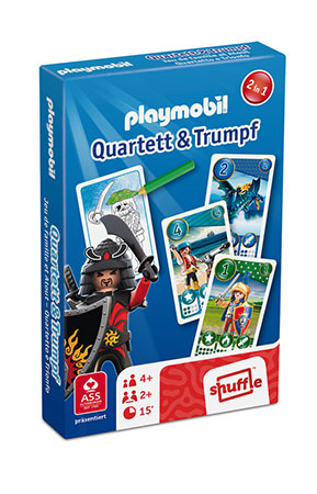 Playmobil - Quartett & Trumpf - Boys