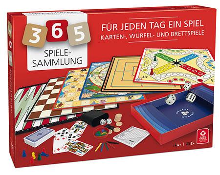 Spielesammlung mit 365 Spielmöglichkeiten