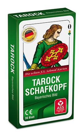 Schafkopf/Tarock, Bayerisches Bild (Faltschachtel)