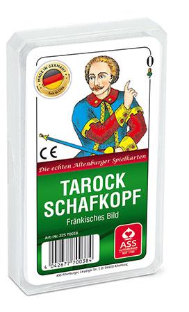 Schafkopf/Tarock, Fränkisches Bild (Kunststoffetui)