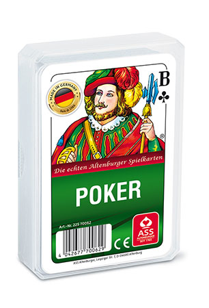 Poker, französisches Bild