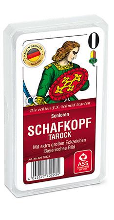 Senioren - Schafkopf/Tarock, Bayerisches Bild (Kunststoffetui)