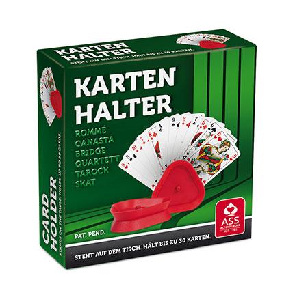 Kartenhalter, rot