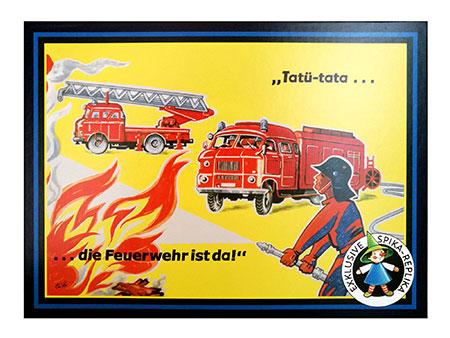 Tatü-tata...die Feuerwehr ist da! (SPIKA)