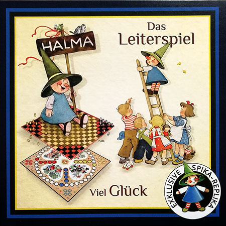 Halma, Viel Glück und Leiterspiel (SPIKA)