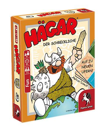 Hägar - Der Schreckliche: Auf zu neuen Ufern! (Spieldeckelspiel)