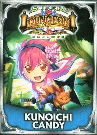 Super Dungeon Explore: Der Vergessene König - Kunoichi-Candy Erweiterung (engl.)