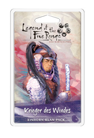 Legend of the 5 Rings - Das Kartenspiel - Krieger des Windes Einhorn-Klan-Pack