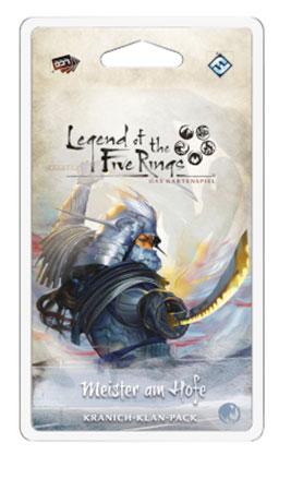 Legend of the 5 Rings - Das Kartenspiel - Meister am Hofe Kranich-Klan-Pack