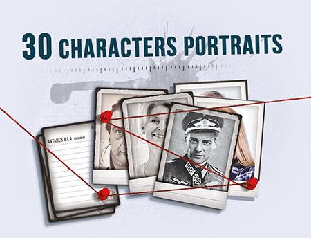Detective - 30 Charakter Portraits Mini Erweiterung