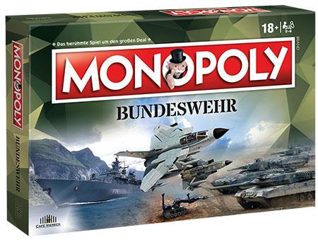 Bundeswehr Monopoly inkl. Top Trumps Bundeswehr