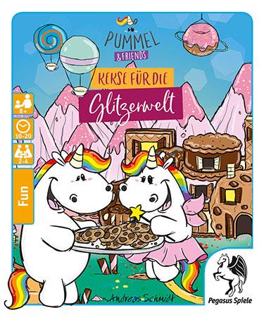 Pummel & Friends - Kekse für die Glitzerwelt (Spieldeckelspiel)