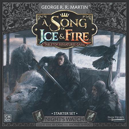 A Song of Ice & Fire - Miniaturenspiel - Die Nachtwache Starter-Set