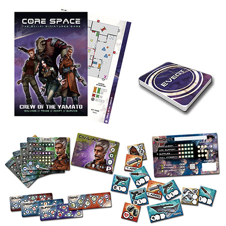 Battle Systems - Core Space - Yamato Crew Erweiterungspack (engl.)