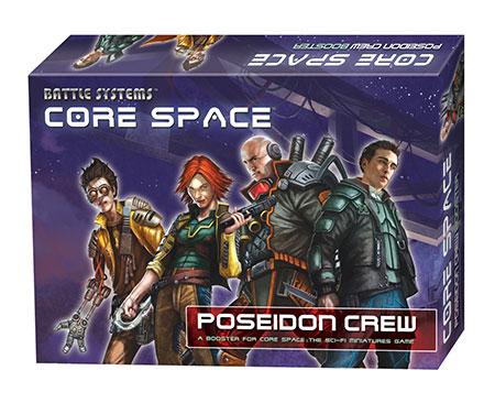 Battle Systems - Core Space - Poseidon Crew Erweiterungspack (engl.)