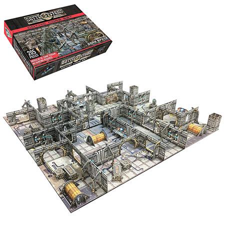 Battle Systems - Sci-fi Terrain - Alte Raumstation