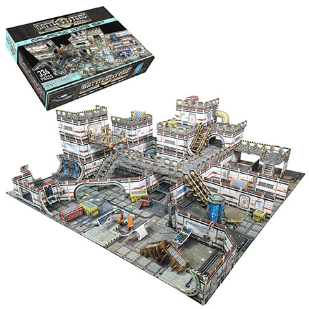 Battle Systems - Sci-fi Terrain - Zentrum der Galaxie
