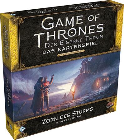 Der Eiserne Thron - Das Kartenspiel 2. Edition - Zorn des Sturms Deluxe Erweiterung